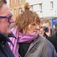 Léo Wojtan et Frédérique Delbarre – photo Jean Lespinasse