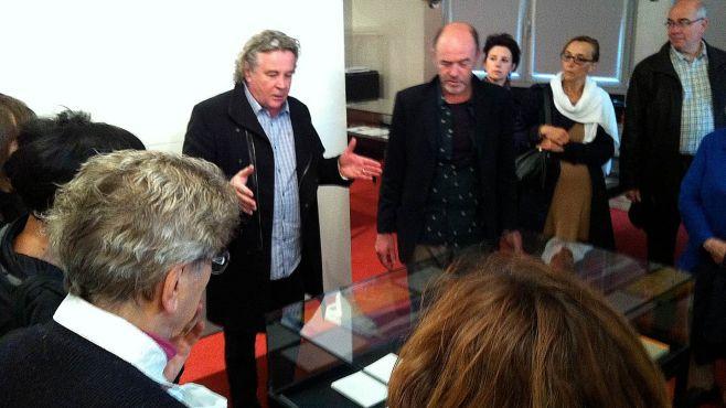Daniel Cling et Jacques Bonnaffé