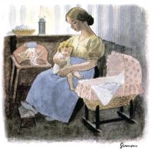 Le P'tit Quinquin, tableau de Simons